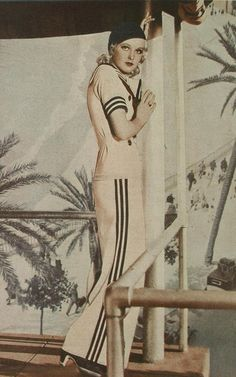 1934 Wide-Legged Pants Outfit