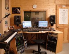 Excellent How To Set Up A Simple Recording Studio At Home Music Rooms Largest Home Design Picture Inspirations Pitcheantrous