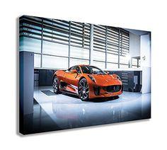 """2015 Jaguar C X75 007 Spectre Bond CAR Canvas Wall Art (30"""" X 18"""" / 75 X 45cm) For all C-X75 Fans AMAZON AFFILIATE LINK. . #jaguarcars #jaguarcx75 #cx75 #007spectrebondcar #affiliate 007 Spectre, Bond Cars, Jaguar Land Rover, Great British, Canvas Wall Art, Fans, Amazon, Amazons, Riding Habit"""
