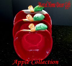 Marcel Home Kitchen Clocks | ... clock wholesale apple clocks wall decor clock kitchen apple clock