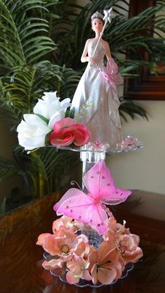 Centro de Mesa Quinceañera o Sweet 16 * CM_061 » Sweet 16 » Centros de Mesas y Recuerdos – E & C The Twins $39.75 www.centrosdemesasyrecuerdos.com