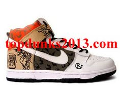 Low Price Custom Catfish Revive Solefood NYC Edition High Top Nike Dunk Internet Sales