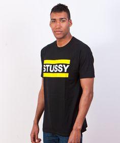 Stussy-Stussy Bars T-shirt Black | KATEGORIE \ T-SHIRT \ KRÓTKI RĘKAW STUSSY \ T-SHIRT \ KRÓTKI RĘKAW
