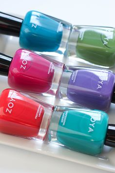 Zoya Island Fun Swatches & Giveaway