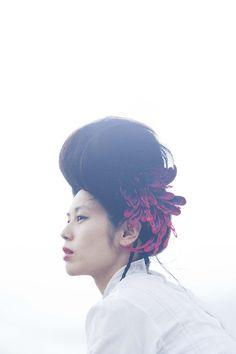 embroidery - more cool hair embroidery! Emi Takazawa, Kiryu, Japan