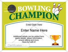 8 Best Bowling Trophy Images In 2016 Bowling Bowling