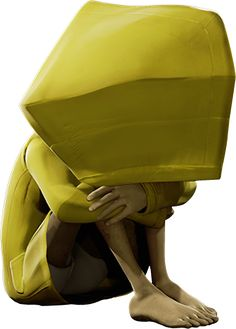 Main character/protagonist from Little Nightmares video game