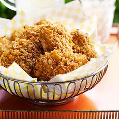 Oven-Fried Chili Chicken