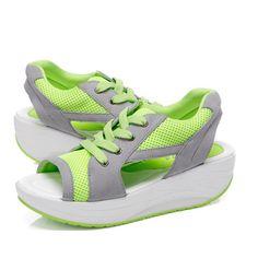 Summer Casual Sandals Fish Mouth Sandals Shook Platform Sandals