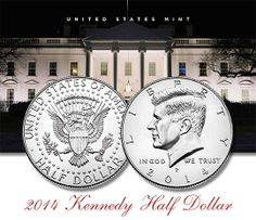 NO LONGER AVAILABLE 2014 Kennedy Half Dollar