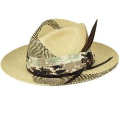 The Bailey of Hollywood Rayney Panama Fedora has a handsome grad crown, a 2 brim, and a printed fabric pug band with a removable feather. This straw hat begins as a hand woven body in Ecuador and is completed in the U. where it is shaped, trimmed Straw Fedora, Fedora Hats, Pink Hat, Hat Shop, Caps For Women, Sun Hats, Caps Hats, Panama Hat, Cowboy Hats