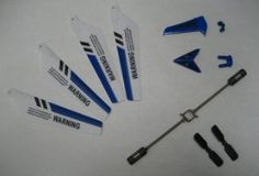 Full Replacement Parts Set for Syma S107 RC Helicopter, Main Blades, Tail Decorations, Tail Props, Balance Bar, -Blue Set- --- http://www.amazon.com/Replacement-Syma-Helicopter-Decorations-Balance/dp/B005CK8T3S/ref=sr_1_21/?tag=telexintertel-20