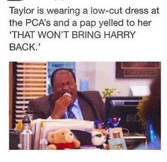 I love taylor AND one direction. I think immature to be stuck on one girl he went out with and it din't work out. #LetItGo