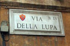 AS Roma | VIA DELLA LUPA (photo Micha Riss) #asroma