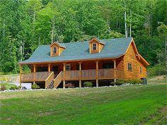 #cabins #mountaincabin #loghome Blowing Rock Exterior