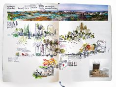 Grupo Aranea architect's sketchbook
