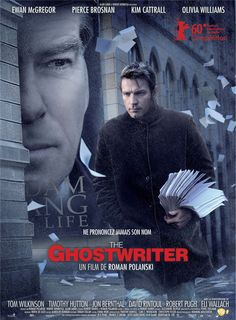 Ghost Writer. Very suspenseful. Well done.
