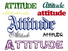 Attitude is the only thing no one can take from you!!!!!