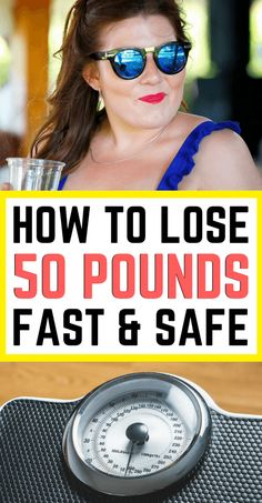 Lose 50 pounds fast and safe! 5 easy to follow ways to drop 50 pounds or more without jeopardizing your health or sanity. Check out all 5 ways to lose 50 pounds by reading this article!