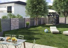 Créez un univers unique au sein de votre jardin avec la gamme de brise-vues aluminium ESTAMPE !