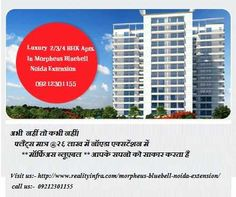 Morpheus Bluebell noida extension is a dream of providing high standards of living environment has blossomed into a reality with more than 6 years of experience MORPHEUS GROUP. Built on foundation of strong linage & an established reputation, Morpheus Bluebell noida extension has always been embraced with comprehensive solutions for eminent & quality living. Morpheus Bluebell noida extension is synonym with lavish lifestyle. The Morpheus Bluebell noida extension apartments ...