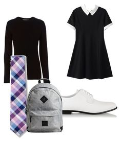 """Young Republicans Of Tomorrow"" by gryffashionor on Polyvore featuring rag & bone, Express and Common Projects"