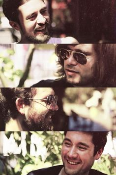 (Bastille) Kyle, Woody, Will, and Dan. Who'm I trying to kid?  They're ALL adorable.