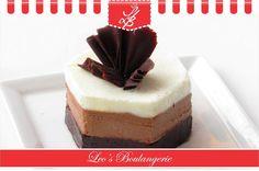 Choose your mousse at Leo's Boulangerie.Visit Leo's Boulangerie, opp. Sasural Hotel, Lokhandwala!