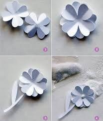 molde flores papel - Pesquisa Google