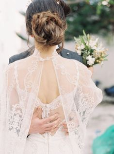 Delicate And Feminine Lace Wedding Dress From This Elopement Wedding Photo Shoot In Mykonos Greece. Delicate And Feminine Lace Wedding Dress From This Elopement Wedding Photo Shoot In Mykonos Greece. Jenny Packham, Elope Wedding, Elopement Wedding, Chic Wedding, Elegant Wedding, Bridal Gowns, Wedding Gowns, Orthodox Wedding, Lace Weddings