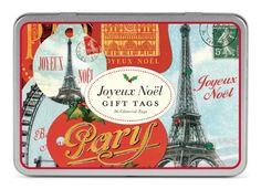 Joyeux Noel Gift Tags - [ #Germany #Deutschland ] #Haushaltswaren [ more details at ... http://deutschdesign.apparelique.com/joyeux-noel-gift-tags/ ]