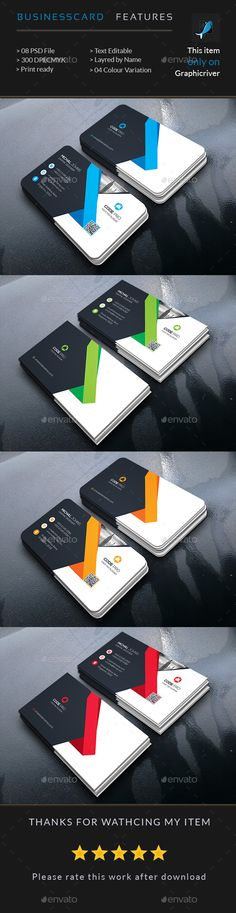 Creative Business Card - Business Cards Print Templates Download here : https://graphicriver.net/item/creative-business-card/17773491?s_rank=287&ref=Al-fatih