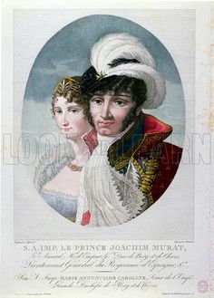 Fun Fact: In Caroline moved with her family to France during the French Revolution. There, she fell in love with Joachim Murat, one of her brother's generals, and they married on 20 January Napoleon Josephine, Family Genealogy, French Revolution, Her Brother, Empire, Family History, Fun Facts, Fall, Painting