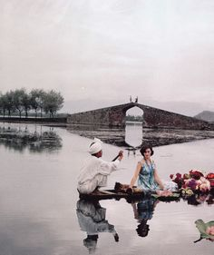 One of Norman Parkinson's beautiful shots of India in 1956.