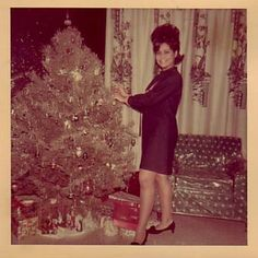 Christmas 1950s/1960s~OCD tree~♛ | ❄*Holidazzle*❄ | Pinterest ...