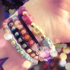My bracelets.