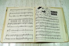 The Sesame Street Song Book  Vintage First Edition by DivineOrders, $47.00