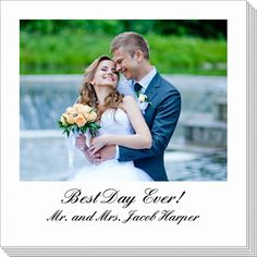 Personalized Any Occasion Photo Napkins