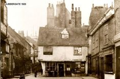 York Uk, York England, Old Pictures, Old Photos, Old Street, First Photograph, North Yorkshire, Home And Away, Old Town