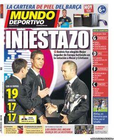 Mundo Deportivo, 31-08-2012