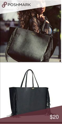 Victoria Secret Fringe tote NWT Victoria's Secret Bags Totes