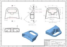 3D MODELING PRACTICE 718(CATIA) | 3D CAD Model Library | GrabCAD Drawing Book Pdf, Drawing Sheet, Mechanical Engineering Design, Mechanical Design, Autocad, 3d Design, Design Model, Solidworks Tutorial, 3d Cad Models