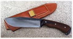 Frédéric Maschio - Le Retord - Acier 100C6 - Longueur totale 262 mm, dont 132 mm de lame, épaisseur 4 mm (Poids environ 250 grs)