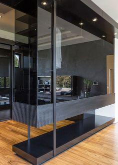 House Blair | Walk in Closet | M Square Lifestyle Design | #closet #glass #contemporary #luxury #walkincloset