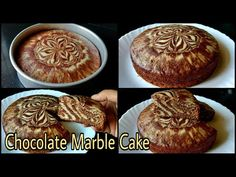Chocolate Marble Cake | Eggless Chocolate Cake Without Oven, Butter, Cream, Beater, Condensed Milk - YouTube Cake Recipes Without Oven, Cake Recipes At Home, Cookie Recipes, Dessert Recipes, Eggless Marble Cake Recipe, Marble Cake Recipes, Eggless Baking, Chocolate Marble Cake, Eggless Chocolate Cake