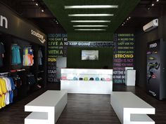 Transition Store by SAUCONY Costa Rica. A3arquitectos
