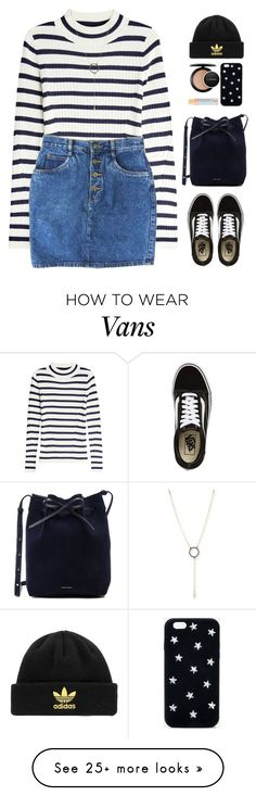 """Untitled #106"" by shoylove-1 on Polyvore featuring Steffen Schraut, Mansur Gavriel, Vans, STELLA McCARTNEY, MAC Cosmetics, adidas Originals, 100% Pure and Armenta"