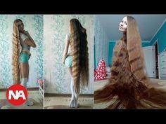 5 секретов красивых волос от русской рапунцель дарьи губановой