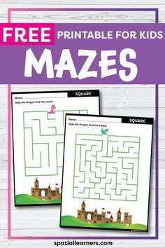 Free Printable Worksheets, Worksheets For Kids, Free Printables, Social Studies Resources, Teacher Resources, Science Resources, Teaching Ideas, Maze Worksheet, Mazes For Kids