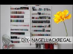 DIY Nagellackregal |unter 18 Euro!!! - YouTube